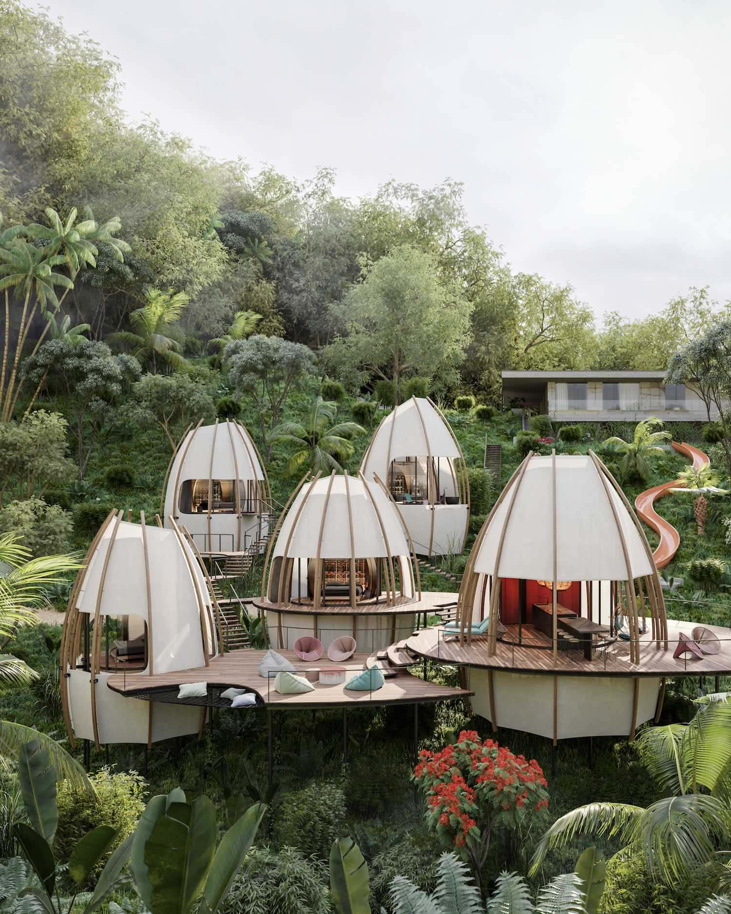 طراحی هتل ART VILLAS در دل جنگل های کاستاریکا