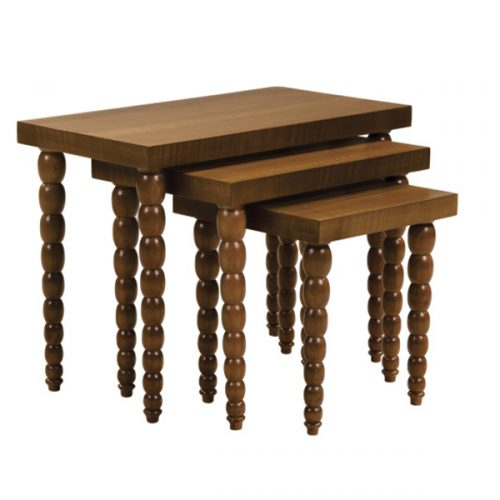ست میز عسلی چوبی کلاسیک مدل دیاموند صنعت چوب کیان