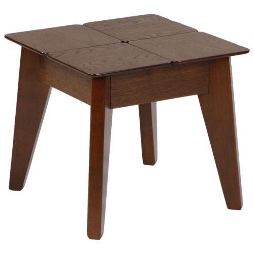 میز عسلی چوبی مدل نیوپازل صنعت چوب کیان