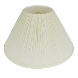 شید آباژور مدل قارچی رنگ سفید