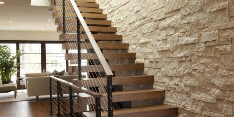 اجرا و کاربرد سنگ آنتیک در طراحی دکوراسیون داخلی ؛ خاص کردن دیوار های اتاق پذیرایی و نشیمن