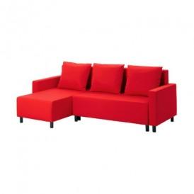 مبل تخت خواب شو قرمز ایکیا LUGNVIK