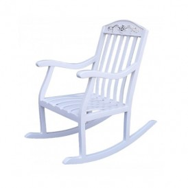صندلی راک کودک آمازون چوب مدل تاج گل