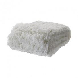 روانداز سفید ایکیا مدل OFELIA