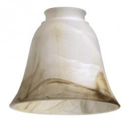 حباب لوستر شیشه ای طرح ابروبادی
