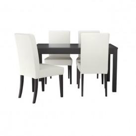 میز و صندلی ناهارخوری ۴ نفره ایکیا مدل IKEA HENRIKSDAL
