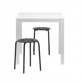 میز و چهارپایه ناهارخوری ۲ نفره ایکیا مدل IKEA MARIUS