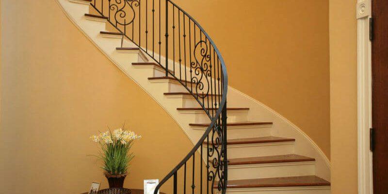 انواع مدل نرده پله در طراحی داخلی و فضاهای بیرونی