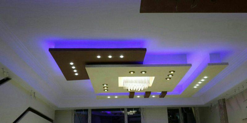 کاربرد سقف کاذب کناف در طراحی داخلی ؛ مزایا و معایب