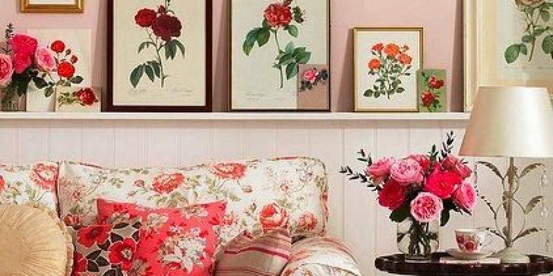 ۵ راه استفاده پارچه های گل گلی در مبلمان و لوازم دکوراسیون داخلی