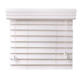 کرکره پنجره قاب دار چوبی سفید