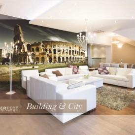 پوستر دیواری ساختمان و شهری پرفکت BULDING AND CITY PERFECT