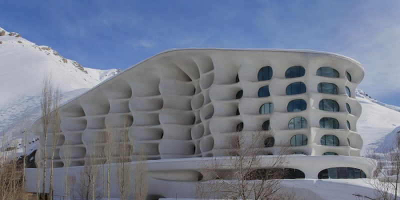 اقامت گاه پیست اسکی بارین در شمشک ، تجلی طبیعت در معماری