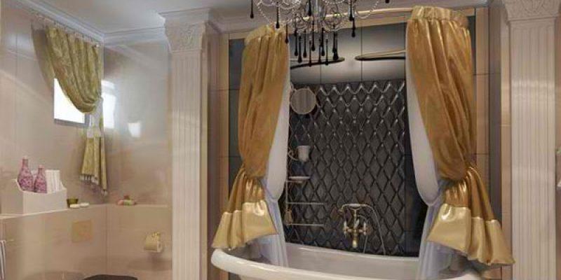 طراحی حمام به سبک ویکتوریایی