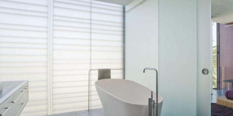 درب های شیشه ای در طراحی داخلی منزل