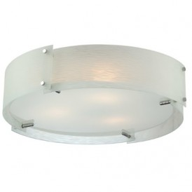 لوستر سقفی شیشه مات مدل Tundra