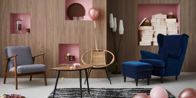 مبلمان IKEA به سبک وینتج : کلکسیون لوازم خانه در جشن ۷۵ سالگی ایکیا