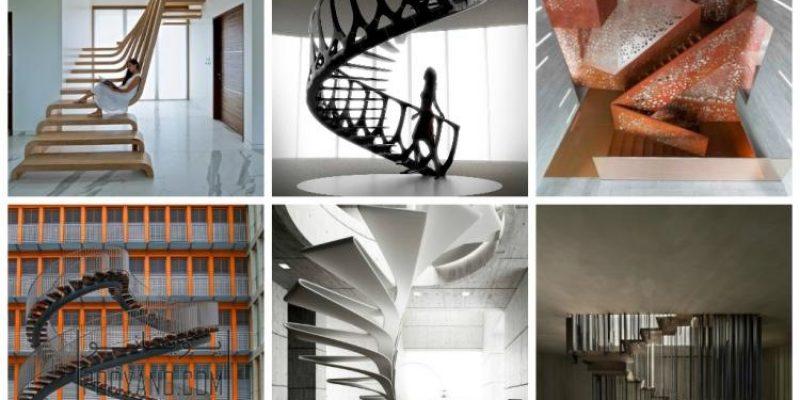 طراحی راه پله : انواع راه پله در طراحی داخلی