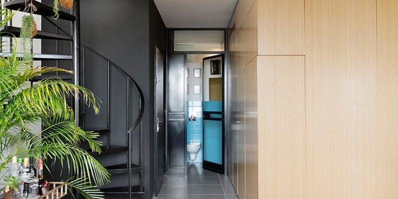 پروژه بازسازی آپارتمان دوپلکس با باکس عملکردی