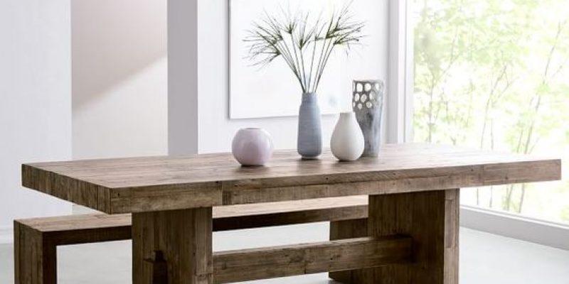 ۱۱ مدل میز مناسب برای اتاق های غذاخوری شیک و زیبا