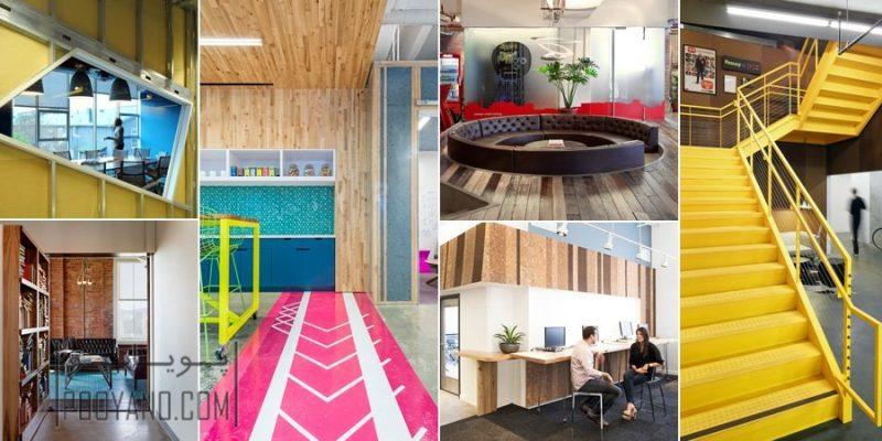 دفتر کار مدرن ؛ جدیدترین ایده های طراحی دفتر کار به سبک مدرن