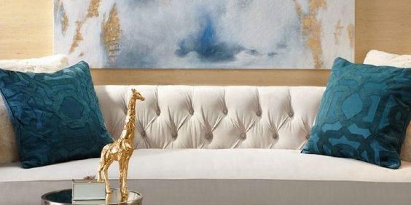 رنگ طلایی در دکوراسیون داخلی به سبک مدرن