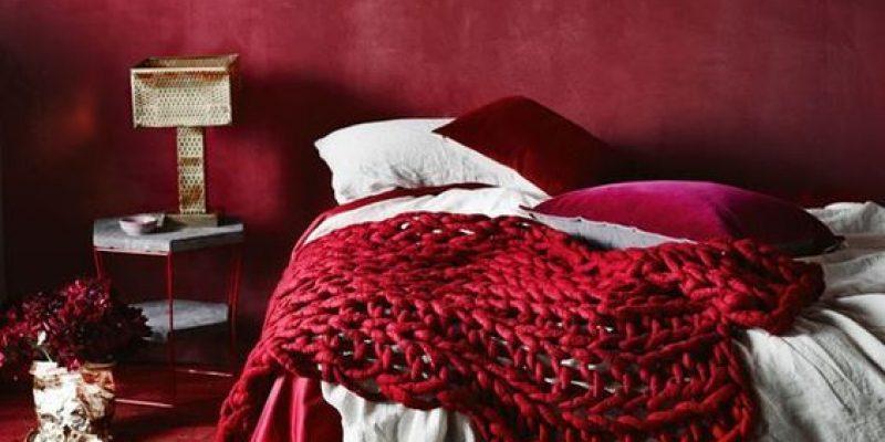 استفاده از رنگ قرمز در اتاق خواب