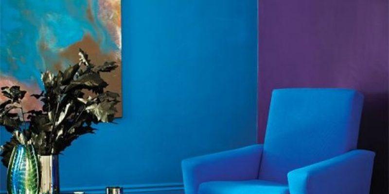 دکوراسیون آبی رنگ : ۱۰ دلیل برای استفاده از رنگ آبی در طراحی داخلی