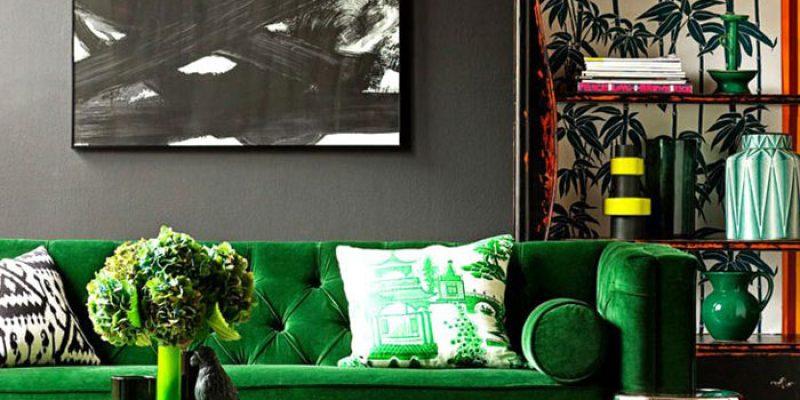 رنگ سبز در دکوراسیون منزل : طراوت بهاری را به زندگی خود بیاورید!