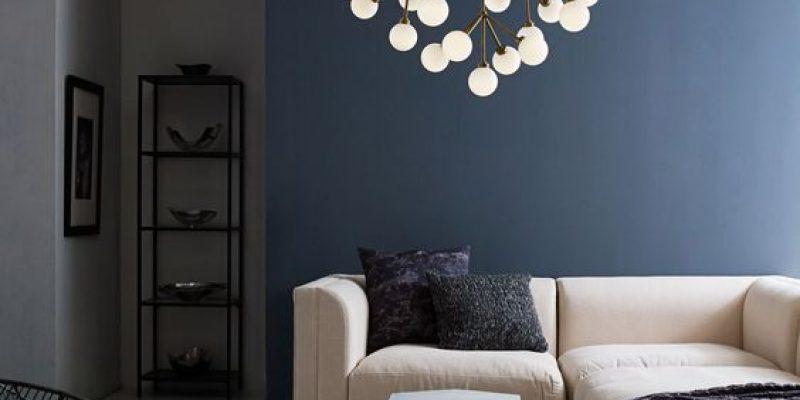 انتخاب چراغ و روشنایی مناسب برای اتاق نشیمن