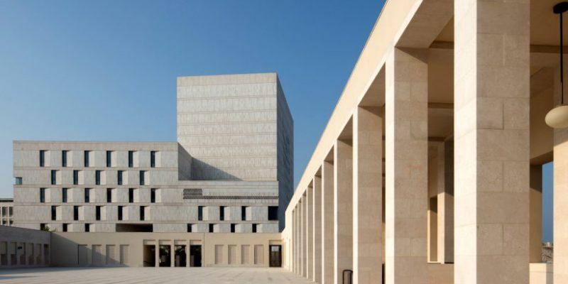 طراحی ساختمان آرشیو ملی قطر با معماری بومی / Allies and Morrison