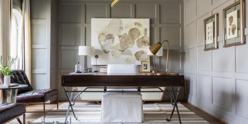طراحی دفتر کار منزل : قدم به قدم تا داشتن فضای ایده آل کار و مطالعه