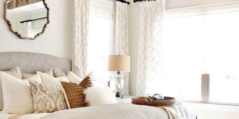 طراحی اتاق خواب ساده به سبک کانتری