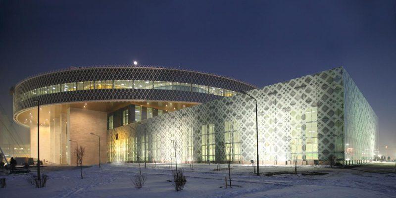 طراحی مرکز جوان در قزاقستان / دفتر معماری Studio 44 Architects