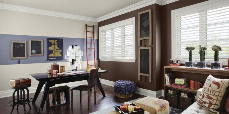 رنگ قهوه ای فرنچ پرس در دکوراسیون منزل : شکلاتی را با بنجامین مور تجربه کنید!