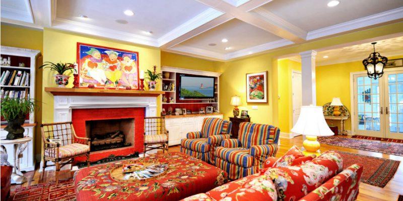 طراحی داخلی خانه با سبک ویکتوریایی جایی برای خوشگذرانی و سرگرمی