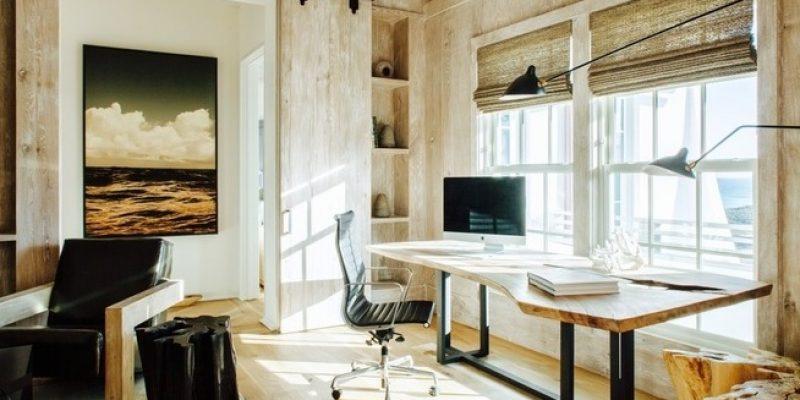 ۴ روش برای طراحی دفتر خانگی