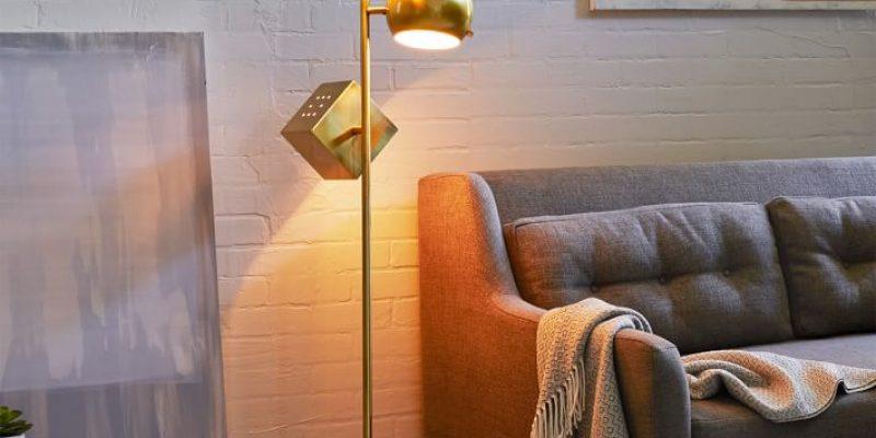 گرایش های طراحی دکوراسیون ۲۰۱۷ : ۵ آباژور ایستاده یا آباژور استند که جلوه منزل شما را تغییر خواهد داد