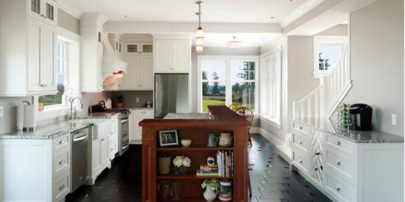 ۱۱ روش برای اضافه کردن رنگ مشکی در دکوراسیون آشپزخانه ها