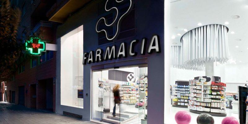 طراحی داخلی داروخانه Conde Lumiares / اثر شرکت معماری Mobil M