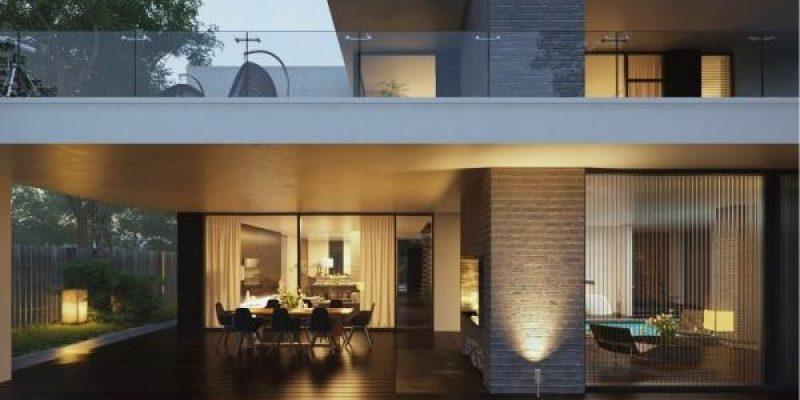 خانه های مدرن با معماری خیره کننده