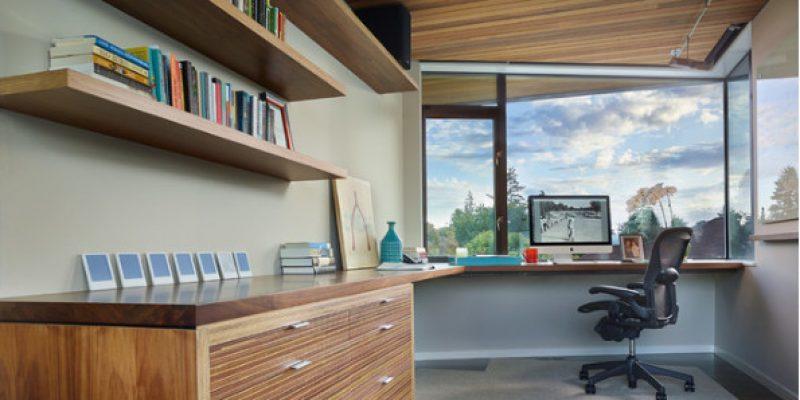 ۹ راهکار برای داشتن فضای مطالعه یا اتاق کار خانگی بدون به هم ریختگی