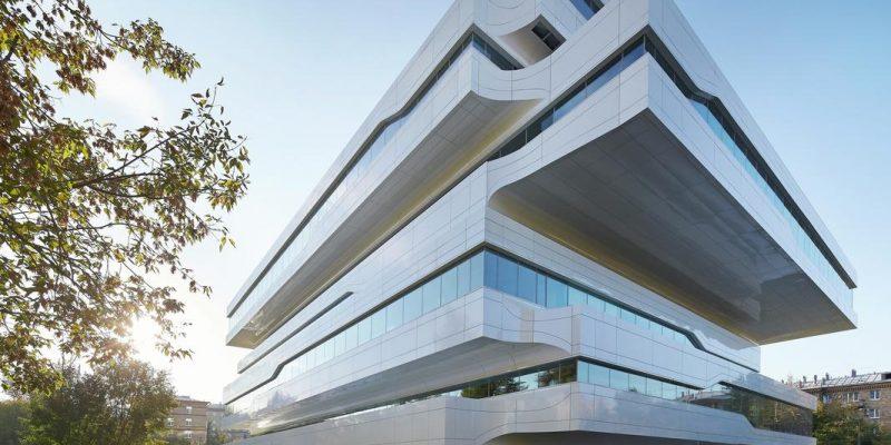 معماری ساختمان اداری دومینیون توسط گروه معماری زاها حدید