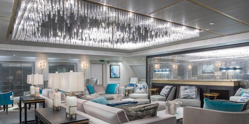 طراحی داخلی کشتی های تفریحی جدید و زیبا با فضای داخلی فوق العاده