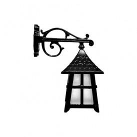 چراغ دیواری فضای باز حسام مدل کلبه