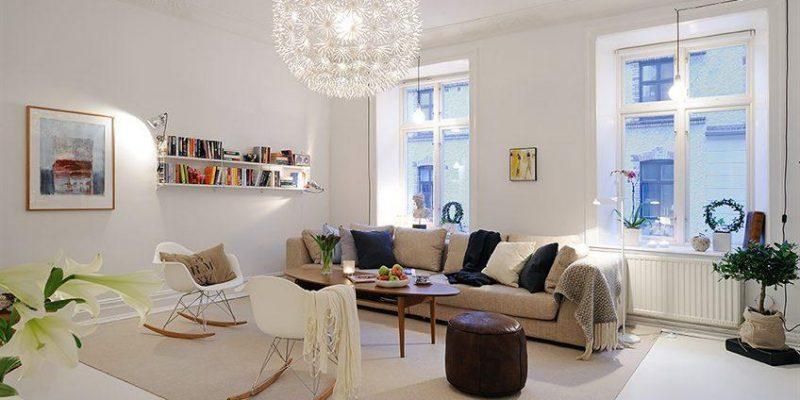 ایده های دکوری برای اتاق نشیمن های کوچک