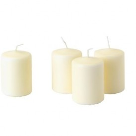 شمع  ۴ عددی بدون بو ایکیا IKEA
