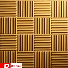 پنل دیواری ردپنل مدل شطرنجی