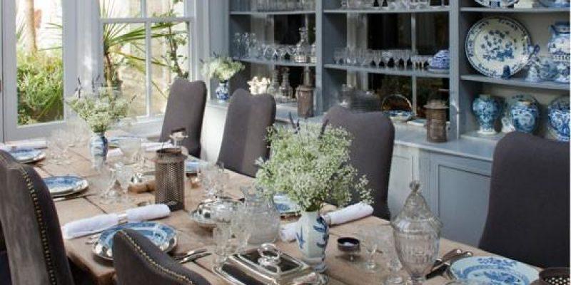 دکوراسیون داخلی فضای غذاخوری به سبک کلاسیک